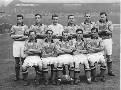 Partick Thistle team group 1952