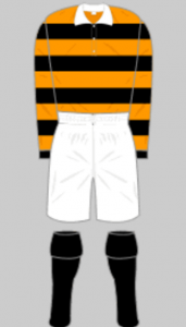 The new strip, introducing a bit o' yella' for the first time, is depicted here courtesy of historicalkits.co.uk.