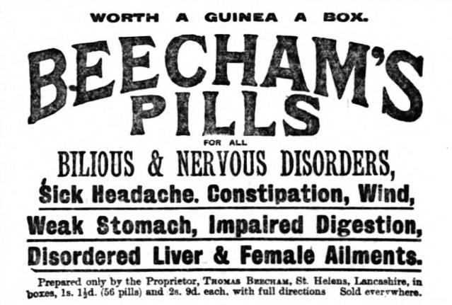 Beechams Pills